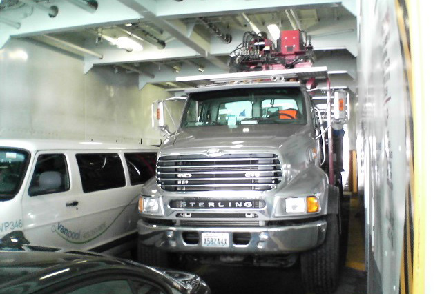 Commercial Drywall Distribution on the ferry