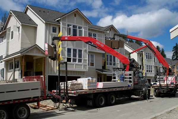 Multi-Family Drywall Delivery