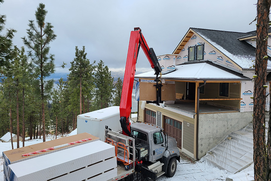 Residential Drywall Delivery in Chelan, WA